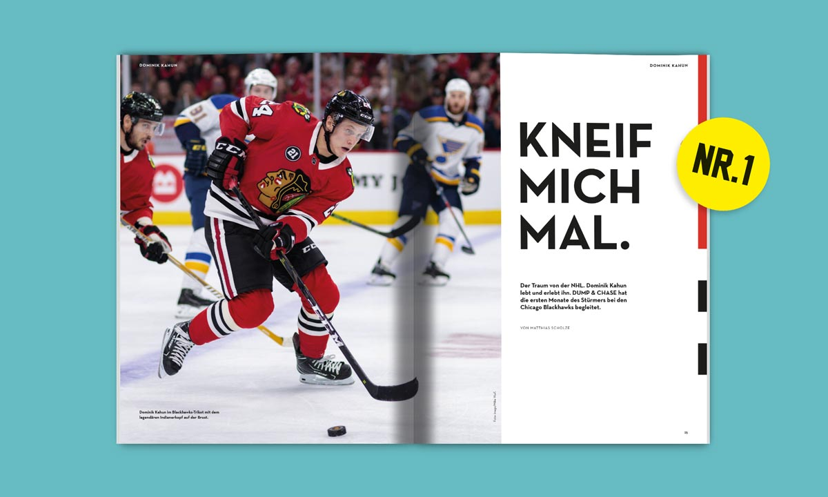 Dominik Kahun in Chicago: Der NHL-Traum